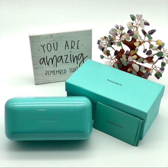 Tiffany & Co. Accessories - Tiffany & Co Sunglass case with Gift Box
